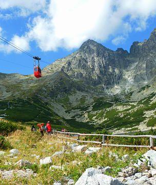 Cable Car in the High Tatras, Slovakia