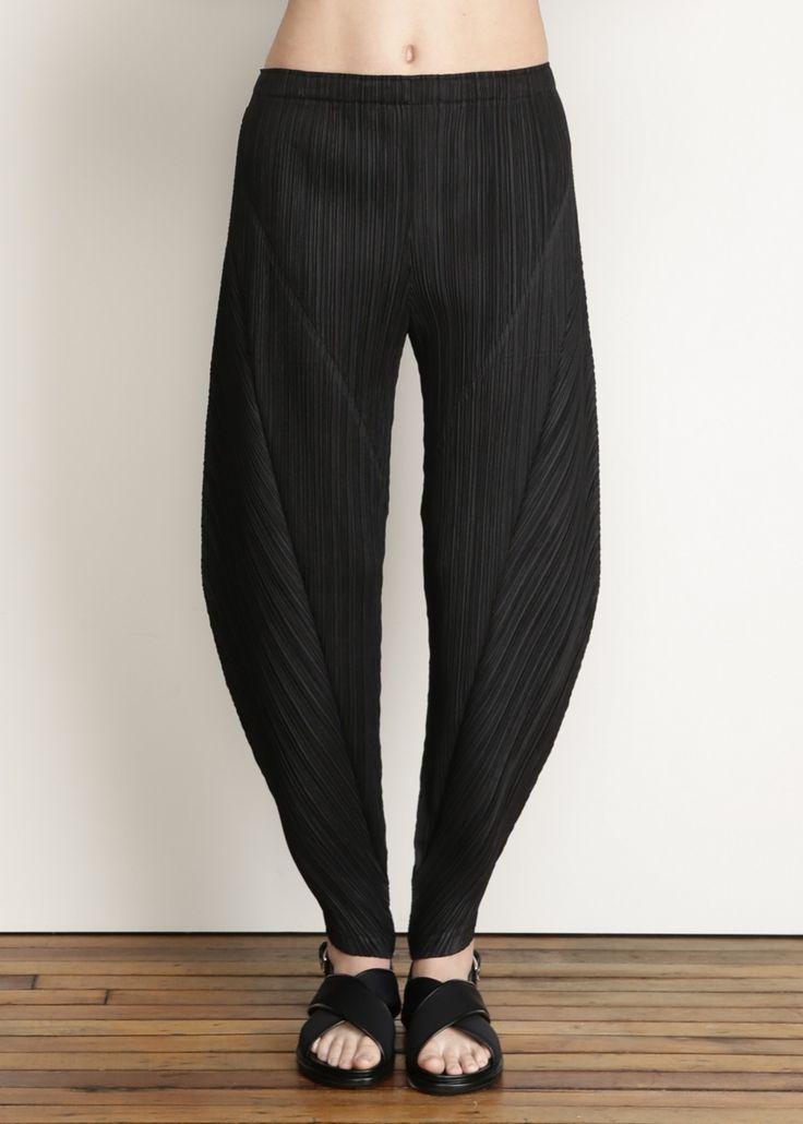 Issey Miyake PLEATS PLEASE Full Pant (Black)