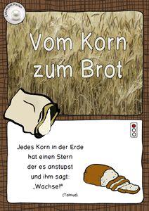 FREE: Vom Korn zum Brot: Ampelhefte Rot - Gelb - Grün differenziert