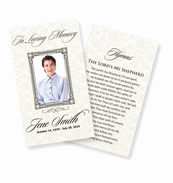 Memorial Cards For Funeral Template Free New Funeral Prayer Cards Examples Funeral Prayers Funeral Cards Card Templates Free