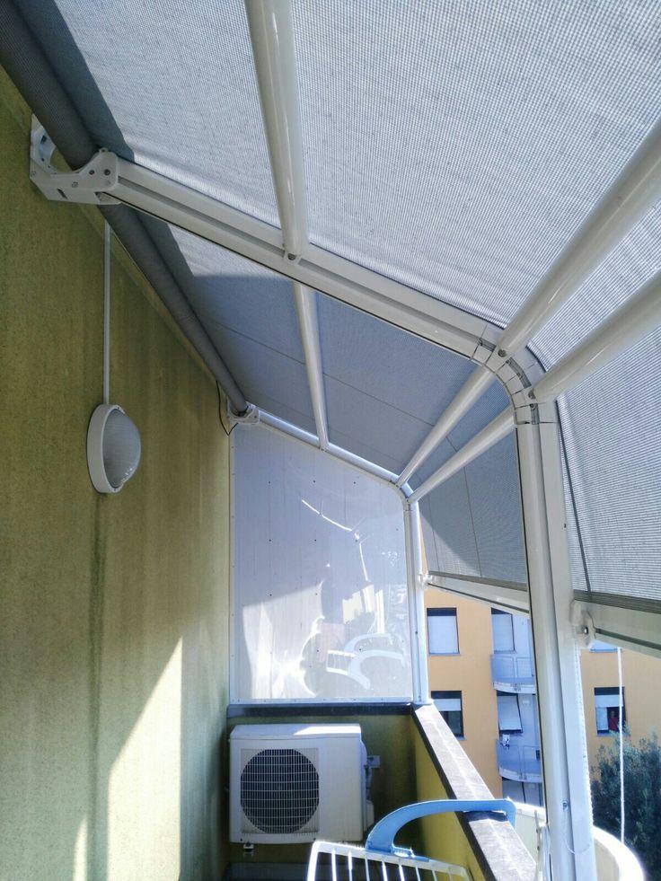 Tenda Tenerife applicata a copertura terrazzuno