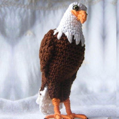 Patrón Águila Amigurumi