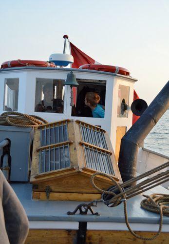 Sailing with Mjölner / Æblegaarden B&B, Langeland, Denmark, www.aeblegaarden.dk Photo by Sannie Terese Burén
