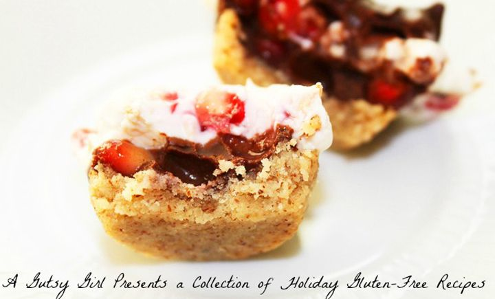 A Gutsy Girl Presents a Collection of Holiday Gluten-Free Recipes. Download the #glutenfree e-book for free via agutsygirl.com (a free gift idea to give to the gluten-free'er or foodie in your life)