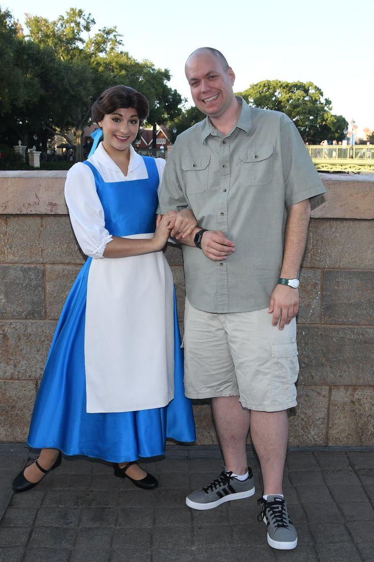 Photos with Belle at Epcot Oct 2019 DisneyWorld Epcot