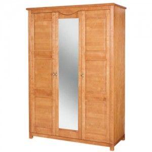 Szafa 3-drzwiowa z lustrem MALAGA
