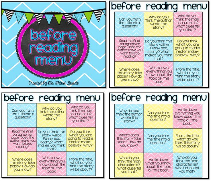 32 best Choice Boards/Menus images on Pinterest | Classroom ideas ...