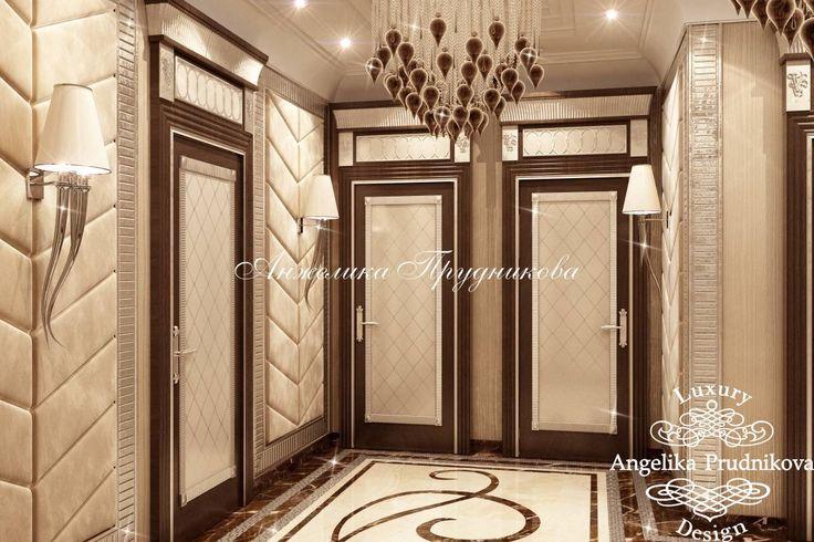 Дизайн интерьера квартиры в стиле модерн на Мосфильмовской улице - фото