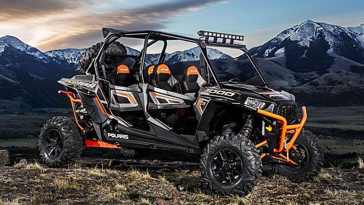 2014 RZR XP 4 1000 EPS Titanium Matte Metallic 4 Seater : Features