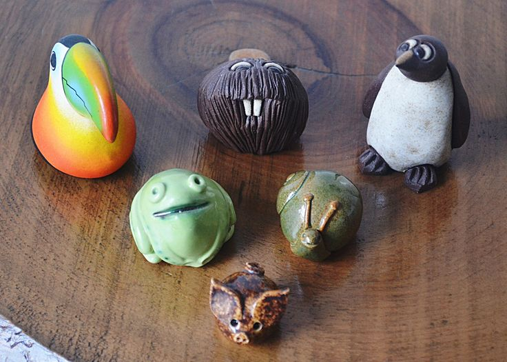 Excited to share the latest addition to my #etsy shop: Miniature Animal Collection, Toucan, Beaver, Penguin, Snail, Frog, Piglet, Vintage Miniatures, Whimsical Animal Figurines http://etsy.me/2hL7WYY