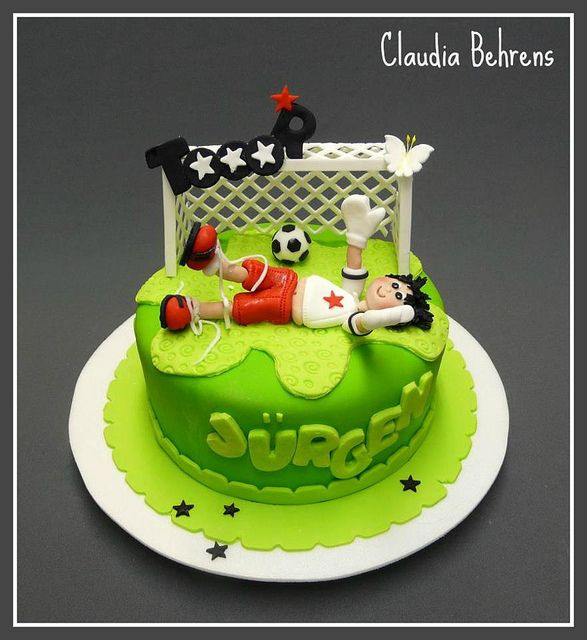 soccer cake jürgen - claudia behrens by Claudia Behrens ~ Cakes, via Flickr