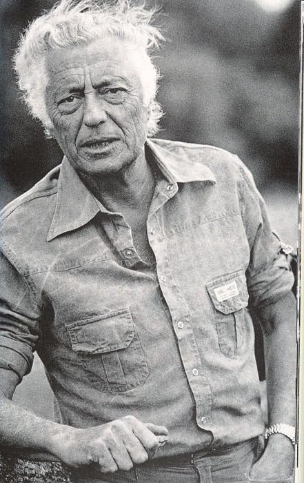Gianni Agnelli in denim shirt