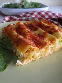 Κανελόνια με ανθότυρο και λαχανικά - The one with all the tastes