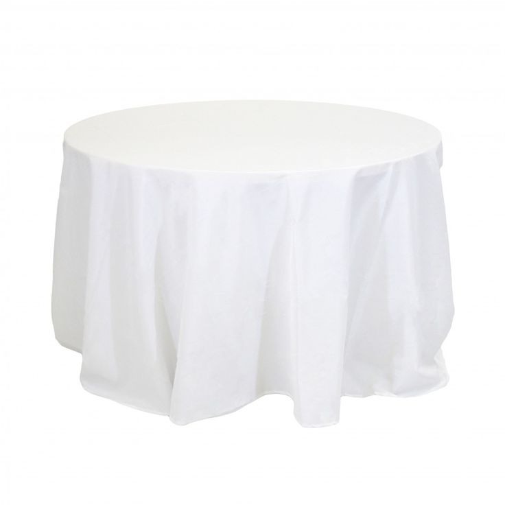 got 90 round table linens white wholesale wedding supplies discount - Discount Table Linens