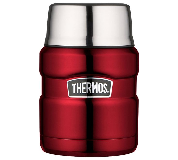 Buy Thermos Stainless King Red Food Flask – 0.47L at Argos.co.uk - Your Online Shop for Flasks and travel mugs, Camping and caravanning, Sports and leisure.