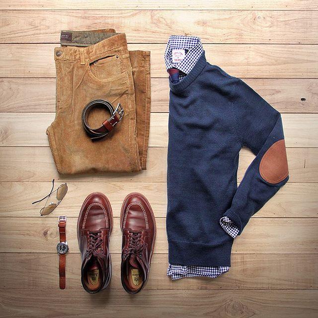 Gentleman, welcome. — Wear corduroy pants, it promotes touching. ;)