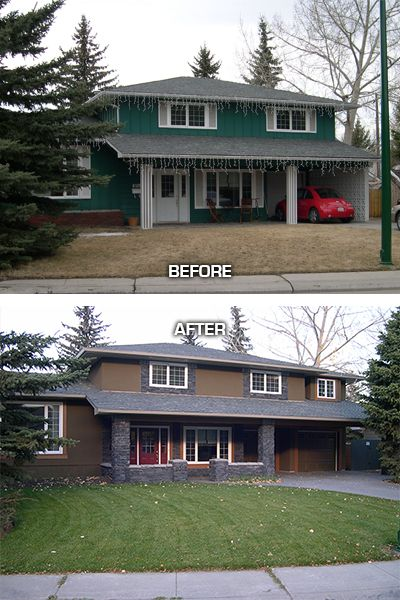 42 best beautiful before & after images on pinterest | exterior