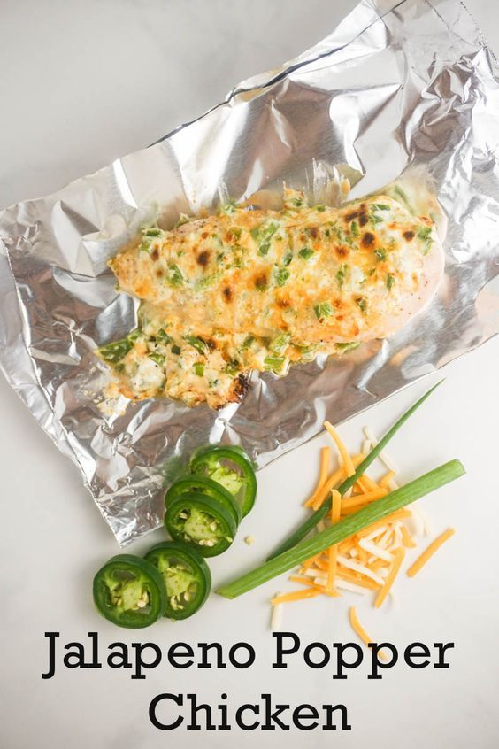 We're keeping it simple today with this grilled or baked Jalapeno Popper Chicken. It couldn't be any easier and is seriously delicious. Let's talk about the players involved – fresh diced...