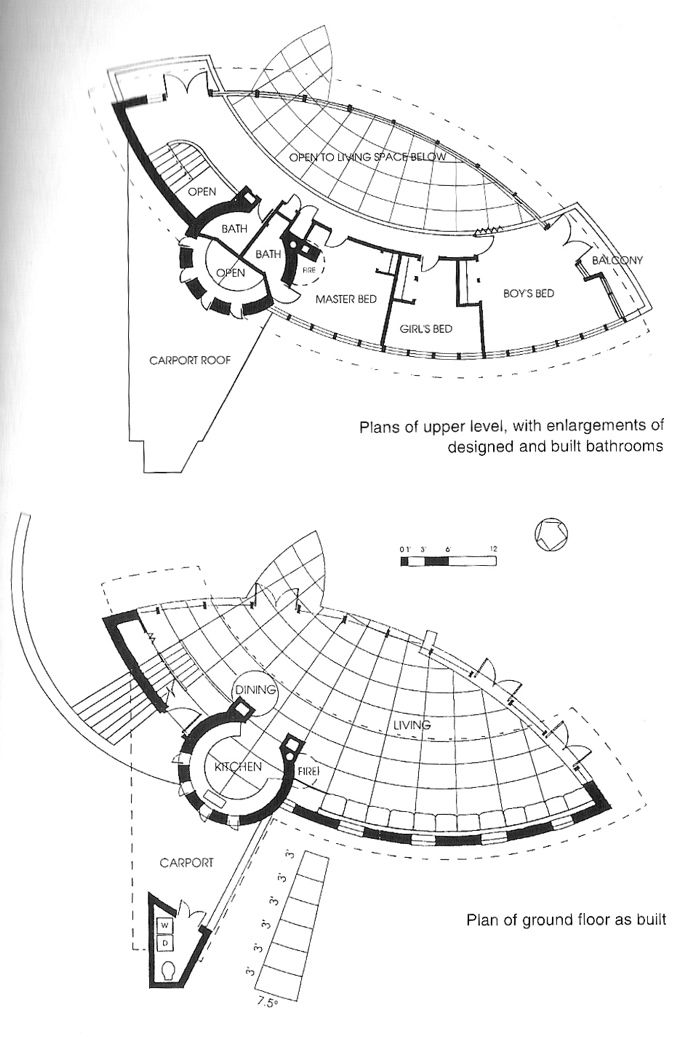 497 best images about arq frank lloyd wright eua drawings for Usonian style house plans