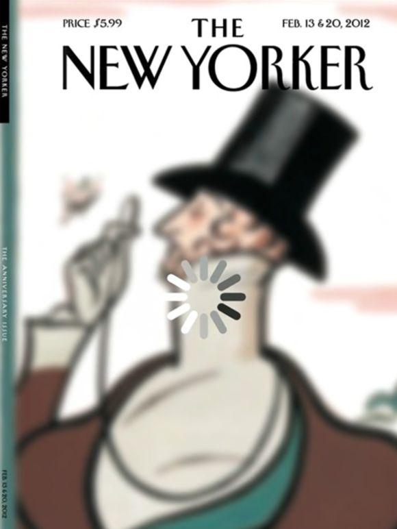 The New Yorker,February 13 - 20, 2012  Creative Director:Wyatt Mitchell  Illustrators: Brett Culbert & Rea Irvin