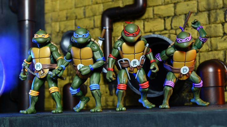 NECA's SDCC TMNT Exclusives Once Again Rule  NECA has announced its newest set of Teenage Mutant Ninja Turtles figures which will be exclusive to San Diego Comic-Con 2017.  According to The Fwoosh the new set features 8 posable figures including the four Ninja Turtles complete with weapons and accessories as well as Shredder Krang and henchmen for them to fight.   NECA's TMNT exclusive for SDCC 2017 via TheFwoosh  Continue reading  https://www.youtube.com/user/ScottDogGaming @scottdoggaming
