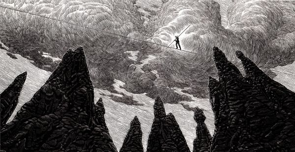 Black and White by Douglas Smith, Peaks Island, ME, USA on Behance | Drawing | Fine Arts | Illustration | Ilustração | Desenho | Digital Art |