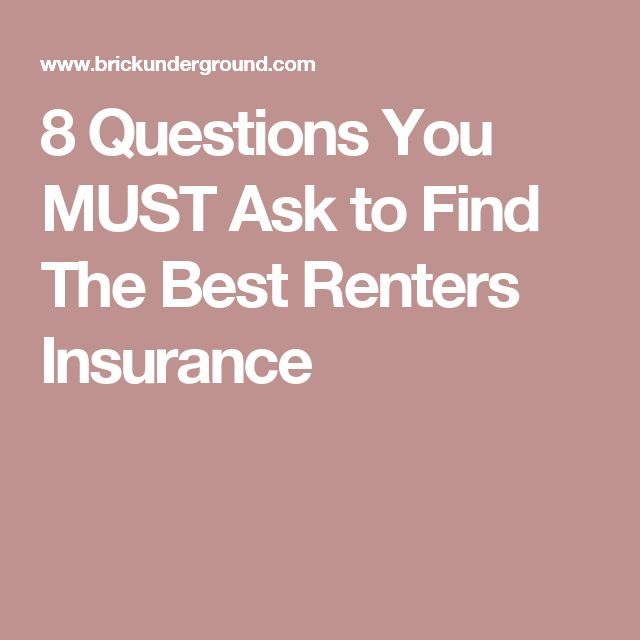 8 Questions You MUST Ask to Find The Best Renters Insurance