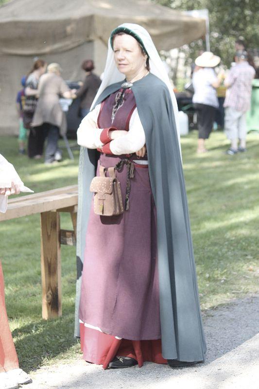 Hämeen keskiaikamarkkinat - Häme Medieval Faire 2011, Anna Pietarintytär - Anna, Daughter of Pietari, © Ulla Seppälä