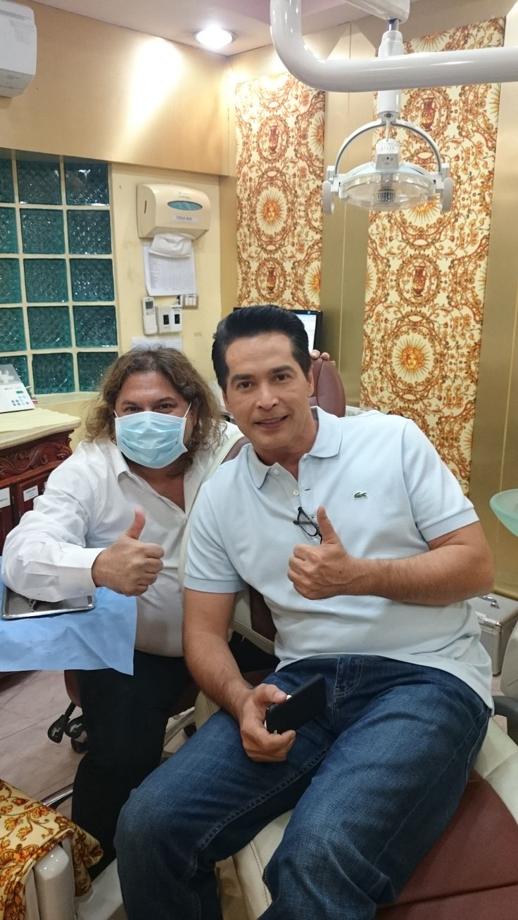 Thai Film Star #JohneyAlfoney at Dr Sunil International DentalClinic in Bangkok Thailand