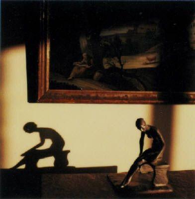 André Kertész: Polaroid SX-79 from Oct 9, 1980