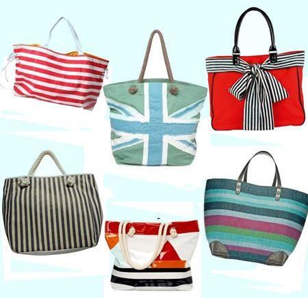 Купить пляжные сумки и обувь