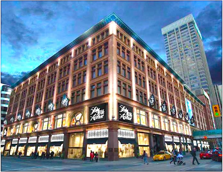 New Info on Saks Fifth Avenue's Toronto Debut This February