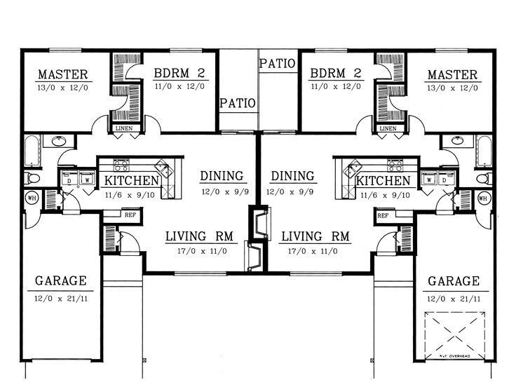 24 Best Duplex Plans Images On Pinterest