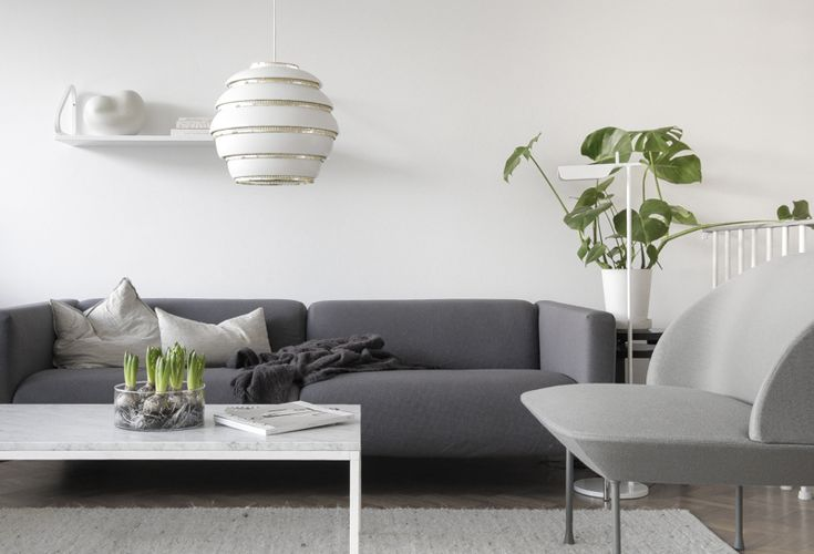 Oslo chair by Muuto, A331 Beehive pendant lamp by Artek. From the blog Time of the Aquarius.