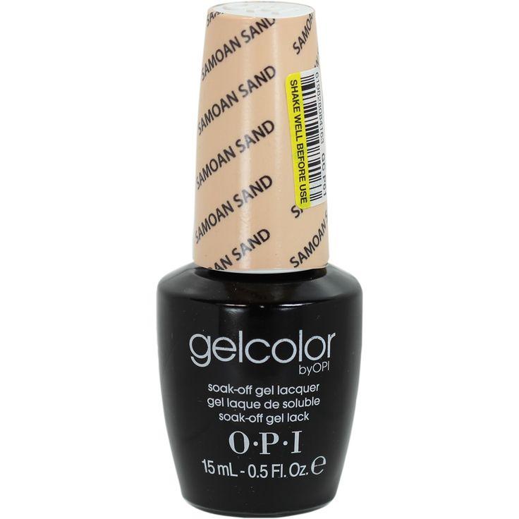 OPI Gelcolor Samoan Sand Soak-Off Gel Lacquer