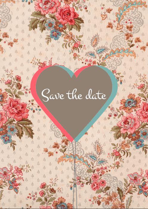 Save the Date Karten zum selber drucken oder drucken lassen! Hier findet ihr 5 Motive!