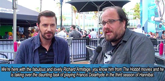 Richard Armitage talks to CraveOnline about his role as Francis Dolarhyde.