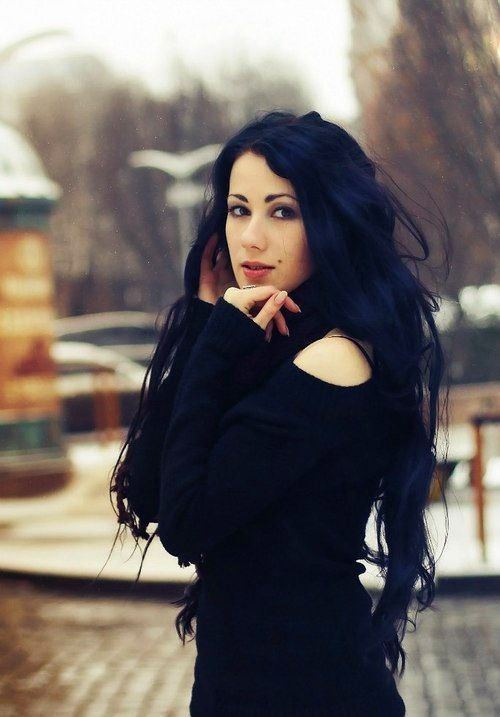 17 Best Ideas About Dark Blue Hair On Pinterest Dyed