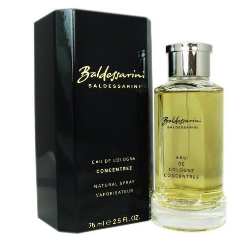 Hugo Boss Baldessarini Concentrate Eau de Cologne Spray for Men, 2.5 Ounce by Hugo Boss. $39.20. Design House:Hugo Boss. Product:Baldessarini. EAU DE COLOGNE SPRAY 2.5 OZ Design House: Hugo Boss Year Introduced: 2002 Fragrance Notes: Mint Pine Wood And Tobacco. Recommended Use: Evening