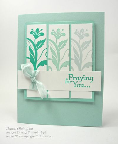 QC: Stampin Up! Flowering Flourishes - DOstamping with Dawn, Stampin Up! Demonstrator