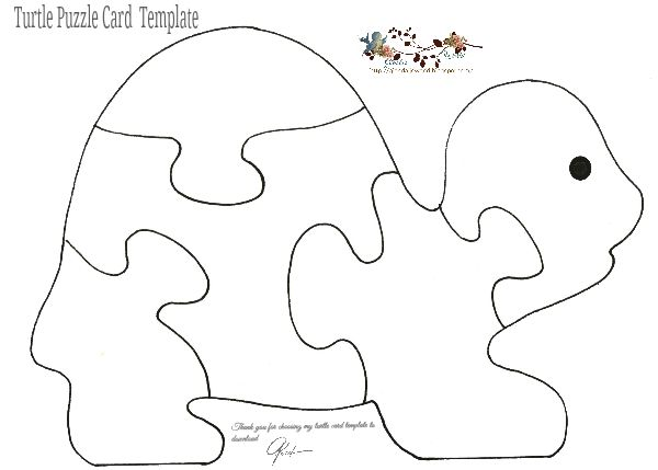 Free Puzzle Card Templates