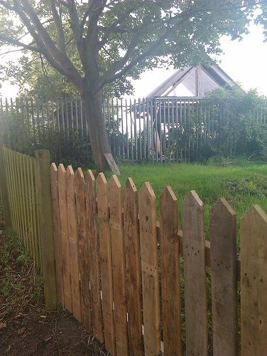 Fence made from Pallets