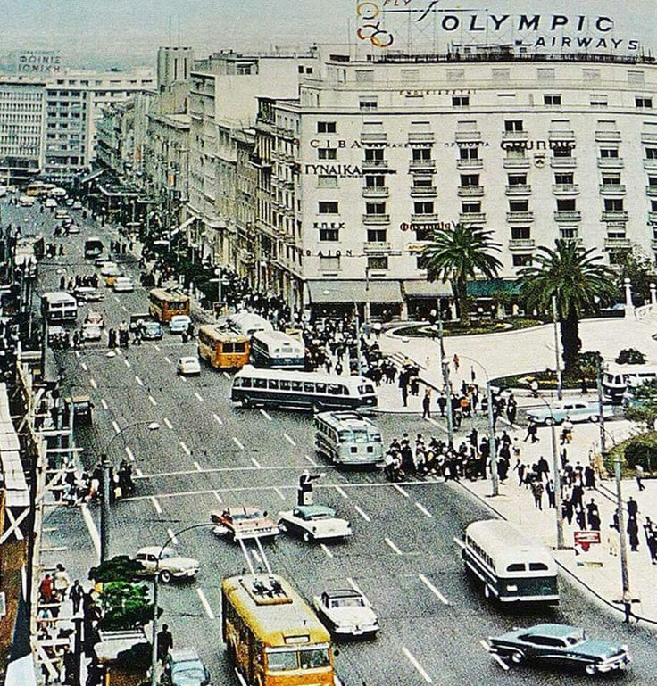 Athens. Late 1950's