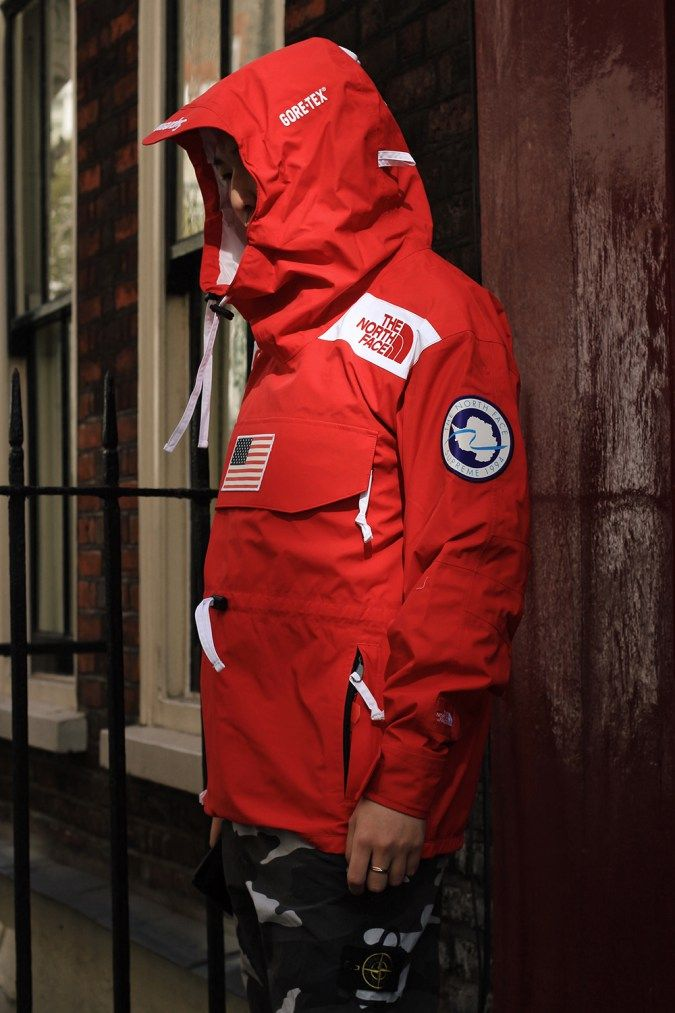 Supreme X The North Face Red Jacket