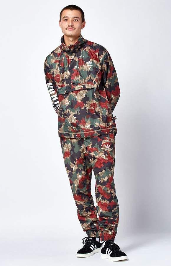 b58a40738d379 adidas x Pharrell Williams Hu Hiking Camo Pants