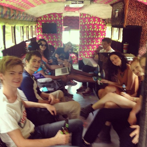 Maze Runner Cast!! Thomas Sangster is adorible