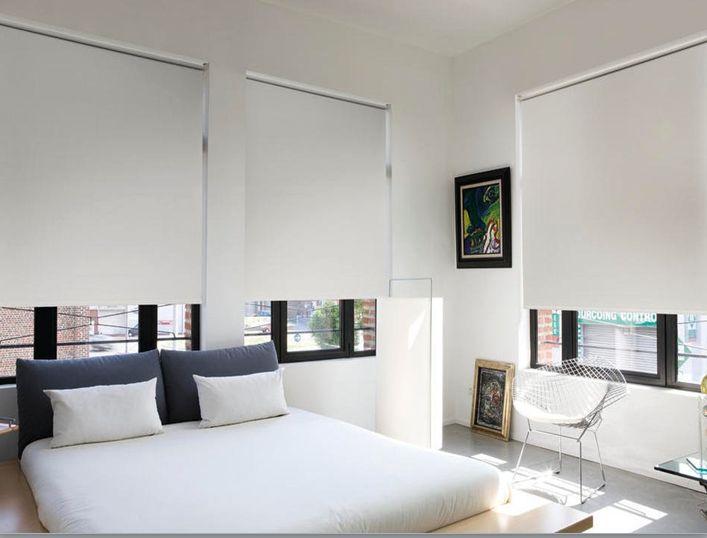 Blockout Blinds in bedroom...
