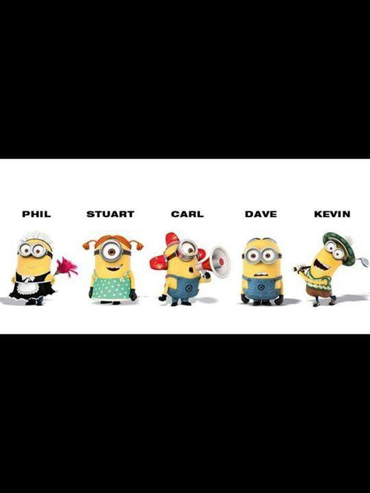 Minion names