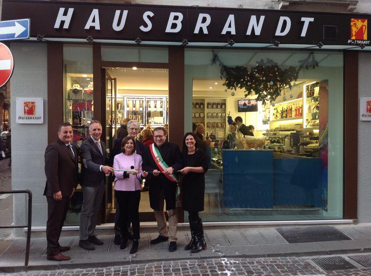 Inaugurazione Caffetteria Hausbrandt Acquario, Treviso