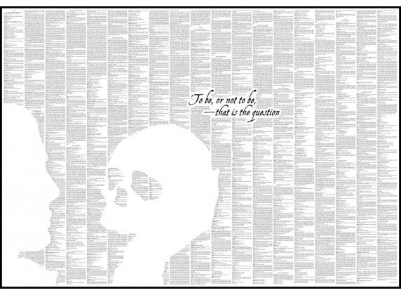 Hamlet - Book Poster - http://spinelessclassics.com.au/hamlet